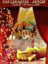 Cartel Carnaval de Aroche 2011