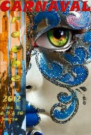 Cartel Carnaval de Aroche 2012