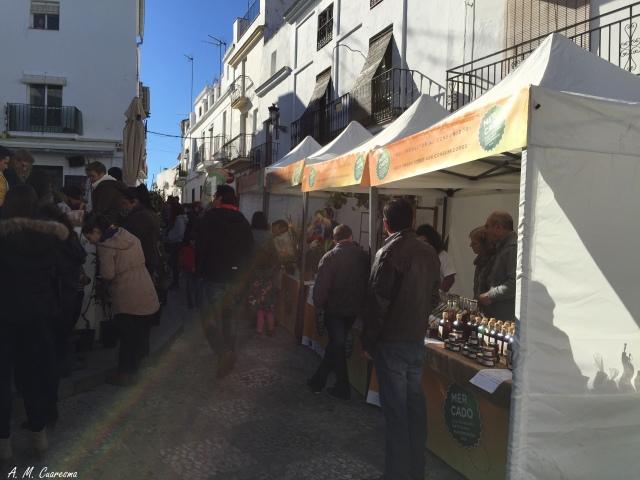 Mercado en la Plaza de Aroche