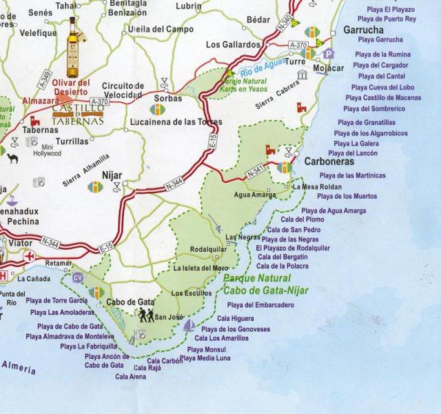 Playas del P. N. Cabo de Gata-Nijar