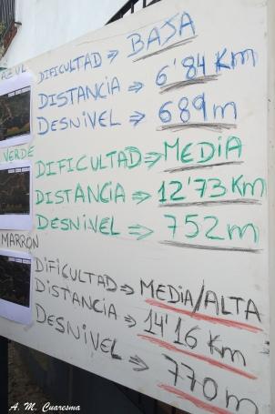 I Concentración senderistas Sierra de Huelva