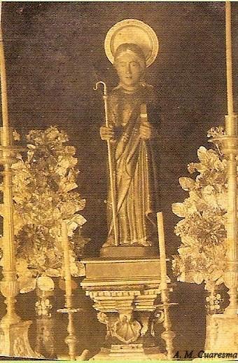 Antigua talla de San Mamés
