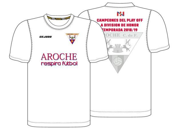 Camiseta conmemorativa del ascenso 2018-2019