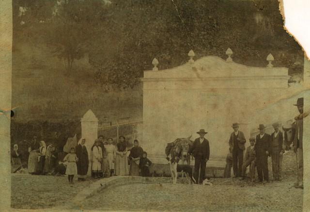 Inauguracion fuente 1903